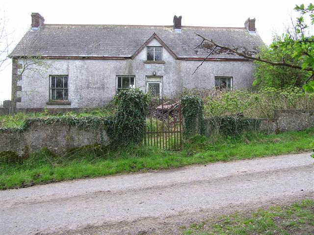 Derelict house at Keady