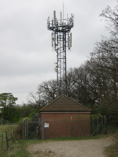 Mobile Phone Mast near Darenth Grange