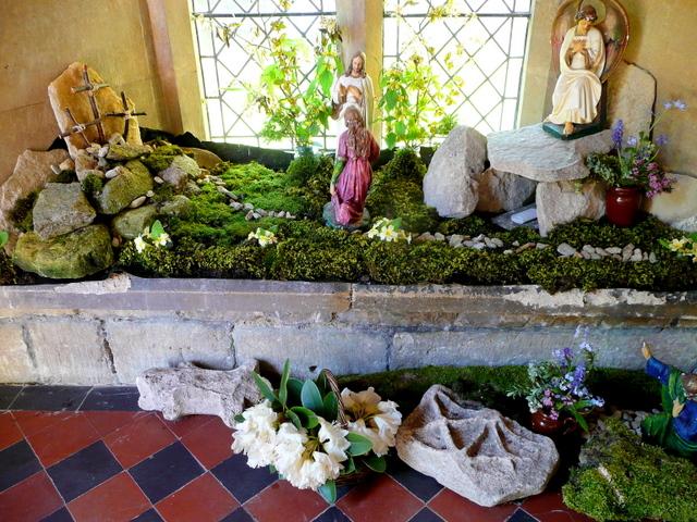 Easter garden