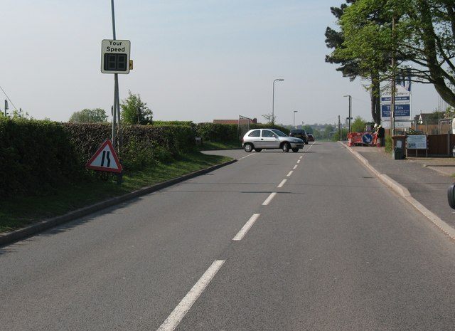 Junction of Hospital Road and Coppy Nook Lane