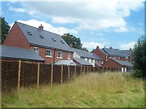 SS9712 : Tiverton : Tidcombe Walk Houses by Lewis Clarke