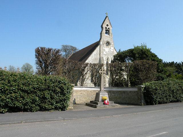 War Memorial & St James Church