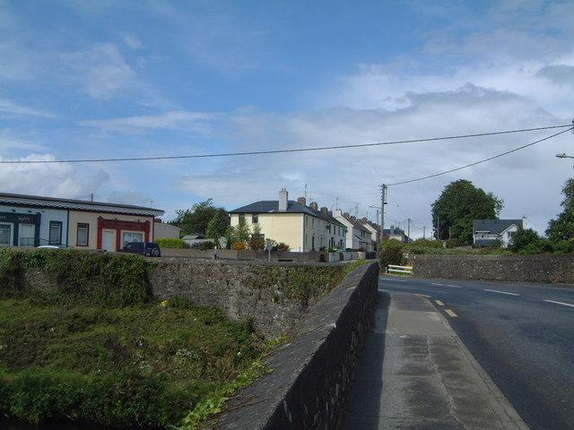 Queen Street / William Street junction, Portlaw