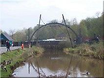 SJ6903 : Model of Iron Bridge, Blists Hill by Geoff Pick