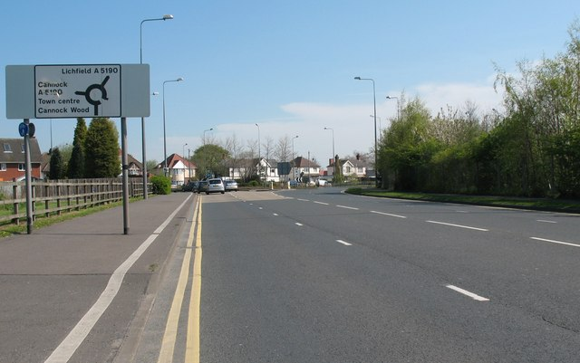 Bridge Cross Road Roundabout