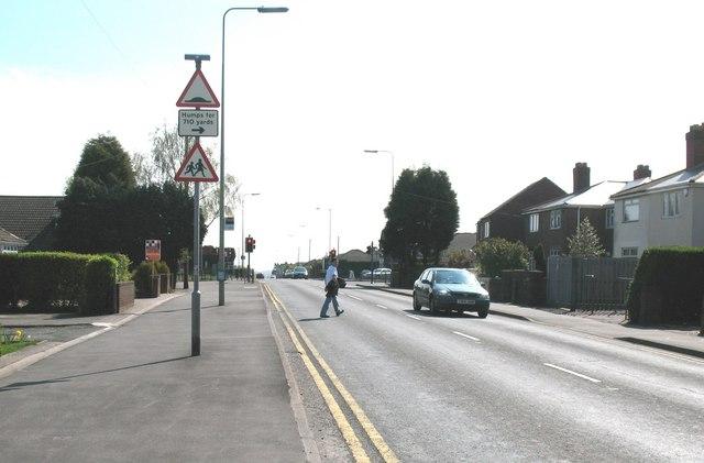 Traffic Lights at Bridge Cross Road