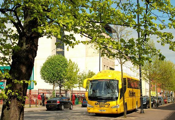 Coaches, College Square North, Belfast (5)