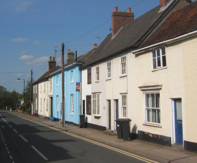 Houses on Bury Street