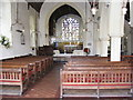 TM3865 : Inside St.Mary's Church, Kelsale by Adrian Cable