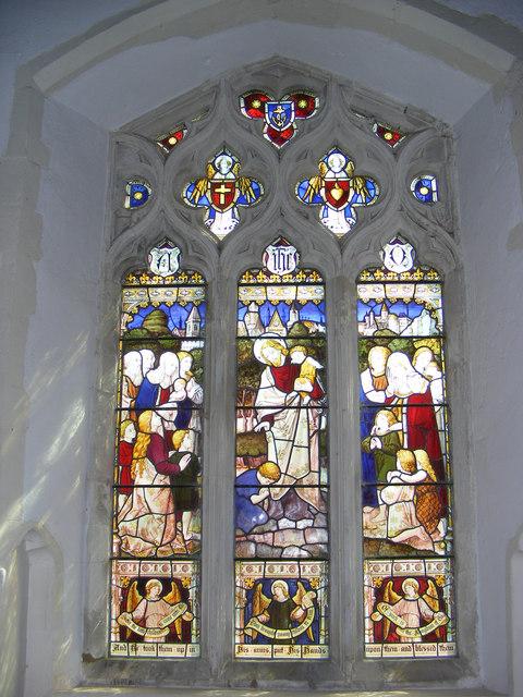 Window in St.Mary's Church, Kelsale