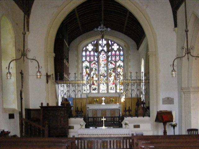 Altar St.Mary's Church, Kelsale