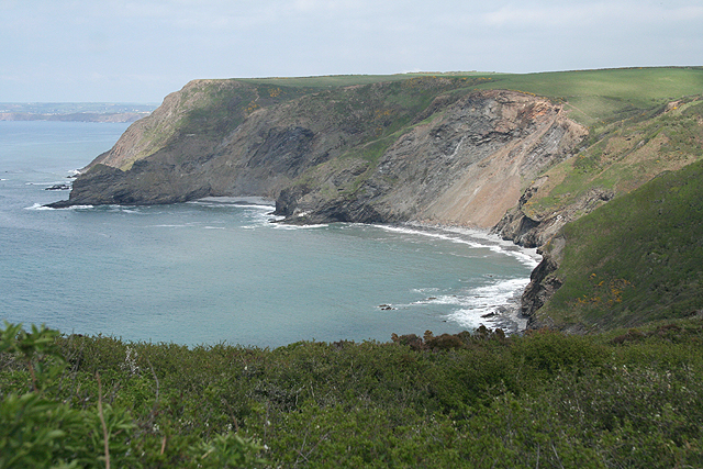 St Gennys: Chipman Cliff and Cleave Strand
