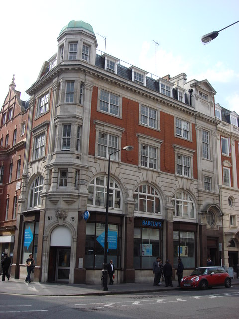 Barclays Bank Great Portland Street