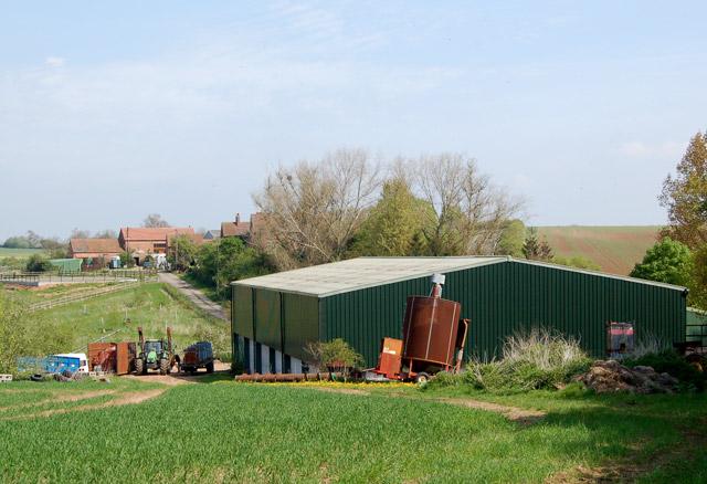 Fosse Farm, buildings