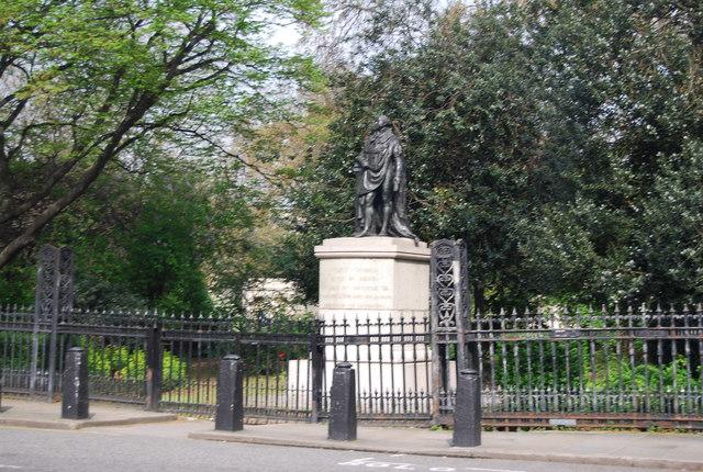 Statue of The Duke of Kent, Park Crescent