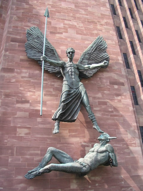St Michael And The Devil Coventry 169 E Gammie Cc By Sa