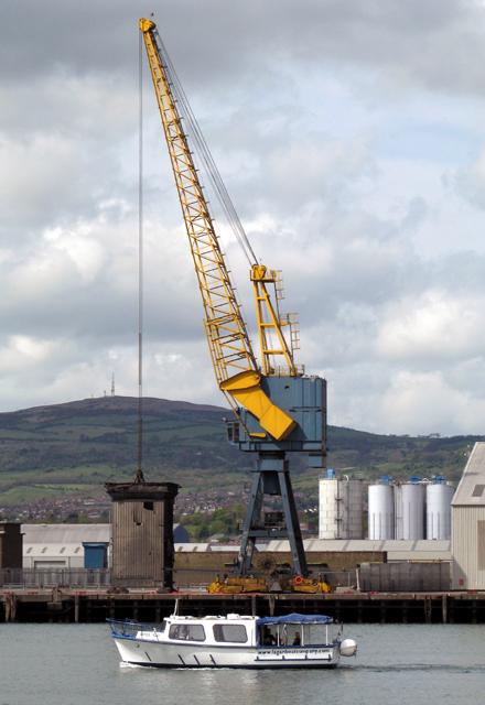 The MV 'Joyce Too', Belfast