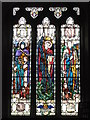 NY9365 : St. John Lee - stained glass window (5) by Mike Quinn