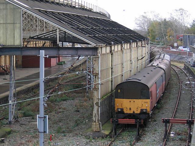 Royal Mail sidings at Crewe