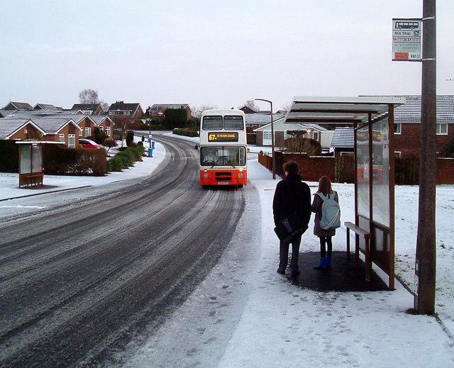 St Peter's School Bus