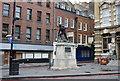 TQ3280 : War Memorial, Borough High St by N Chadwick