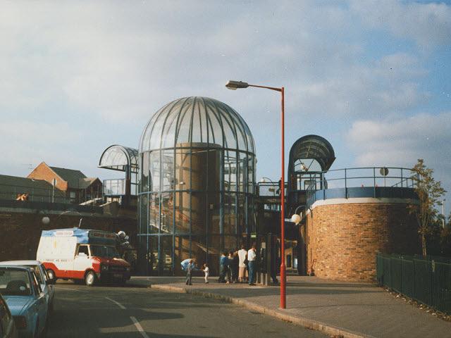 The original Island Gardens station
