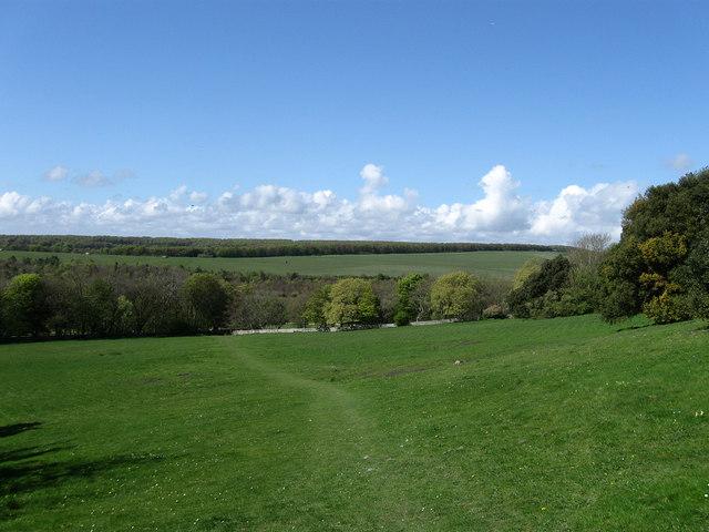 Looking Towards Friston Hill