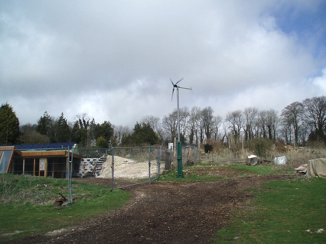Earthship in Stanmer Park