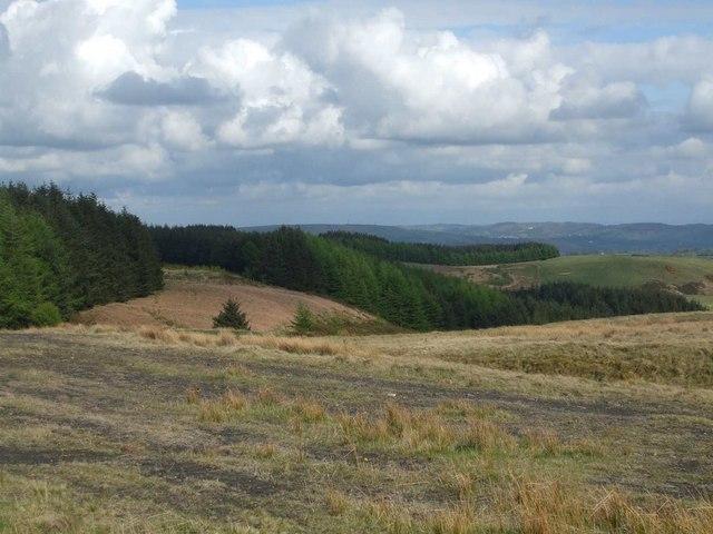 Countryside south of Trehafod