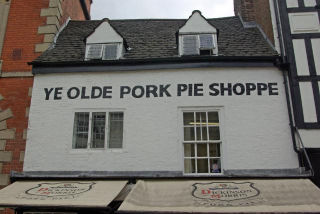 Ye Olde Pork Pie Shoppe, Melton Mowbray