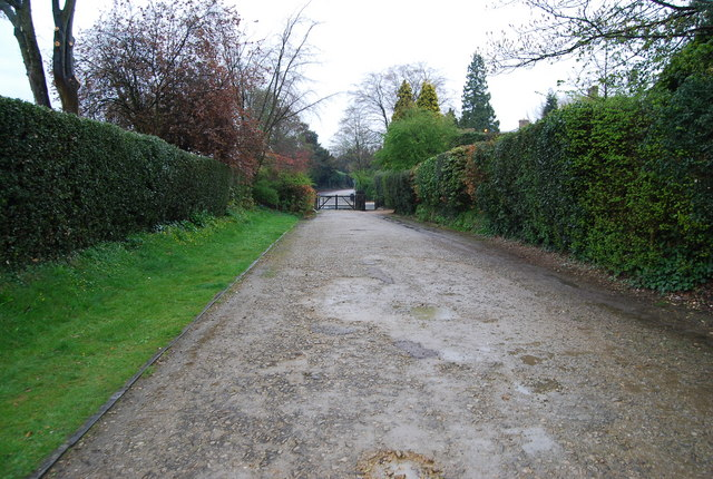 Calverley Park, Private Gated Rd by N Chadwick