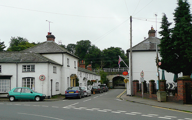 Trent Lane in Great Haywood, Staffordshire
