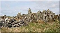 NR6880 : Rock Pinnacles by Anne Burgess