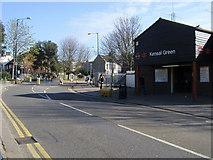 TQ2382 : Kensal Green Railway Station by Shaun Ferguson
