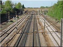 TQ3187 : East Coast Main Line looking North by Oxyman