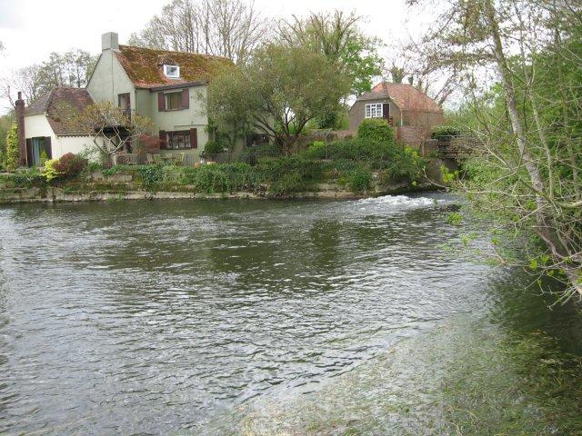 Weir at Spetisbury