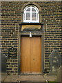 SE0118 : Rishworth Congregational Church, Doorway by Alexander P Kapp