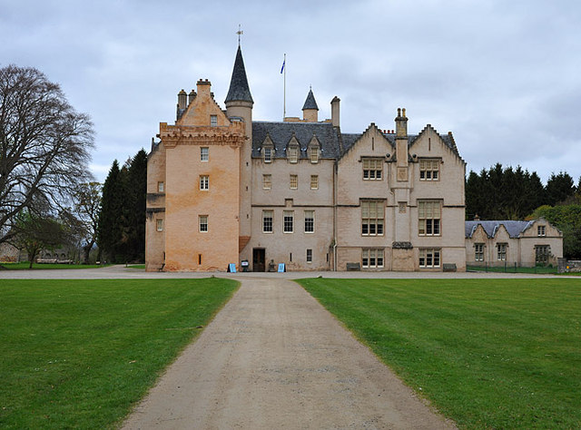 Brodie Castle from the south east