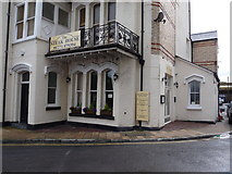 SS5247 : The Steak House, Sea Rock Apartments, Wilder Road, Ilfracombe. by Roger A Smith
