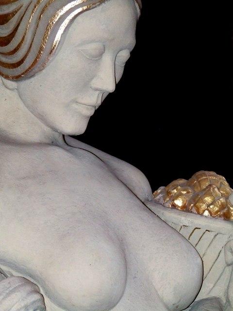 Sculpture, part of the Hew Lorimer exhibition at Kellie Castle