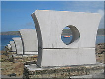 SW3526 : Supports for the new slipway by Rod Allday