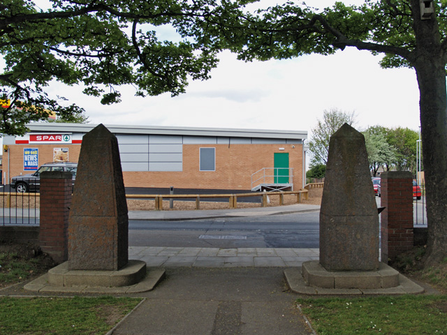 Ironstone obelisks