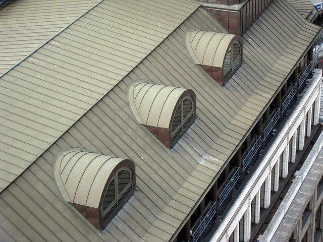 Round Topped Dormers