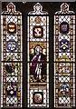 TG3200 : St Ethelbert, Thurton, Norfolk - East window by John Salmon