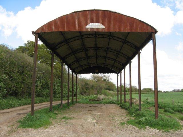 Lonely Dutch Barn