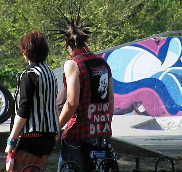 Punks in the park
