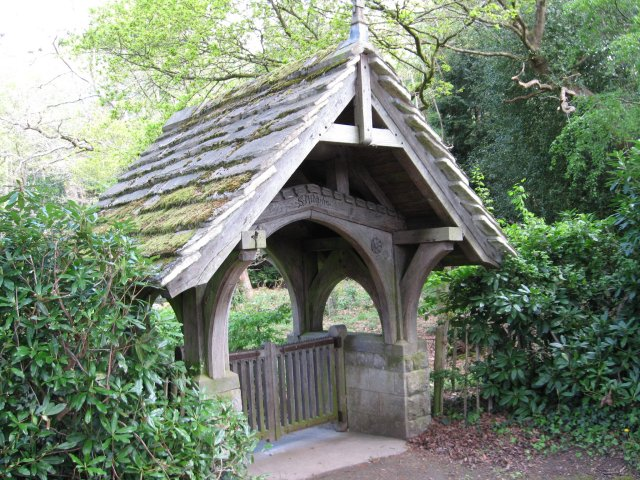 Lych Gate at St Aldhelm's