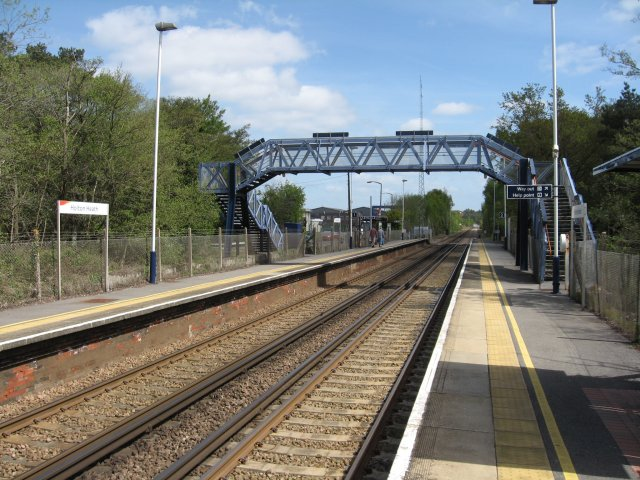 Holton Heath station