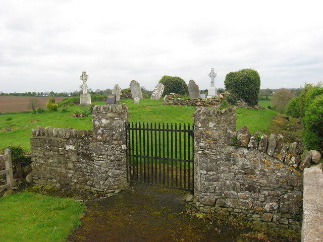 Church ruins at Oristown, Co. Meath