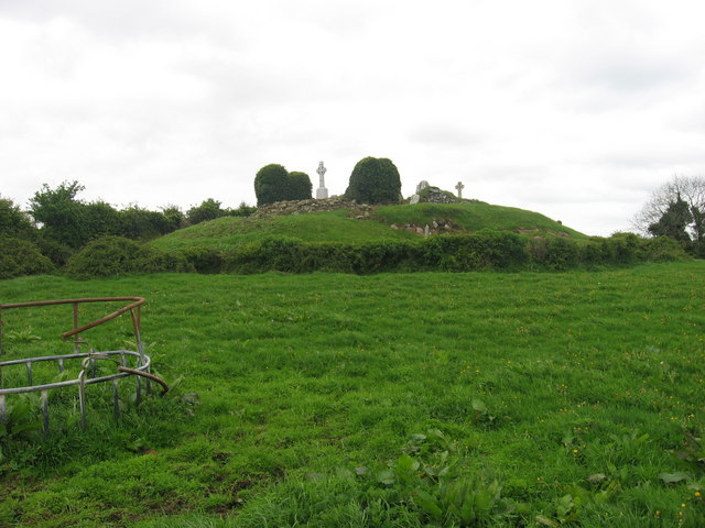 Church and graveyard at Oristown, Co. Meath